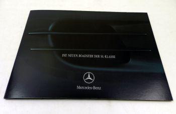 Mercedes Benz SL-Klasse Roadster R230 Prospekt 2001