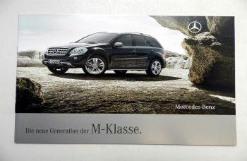 Mercedes Benz M-Klasse Prospekt 2008