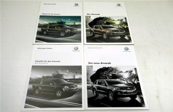 Volkswagen VW Amarok 2 Prospekte + 2 Preislisten 2010/2011