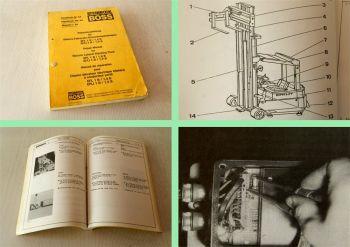 Steinbock Boss EFL1B/1,5B Gabelstapler Reparaturhandbuch Werksta