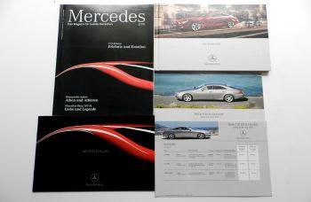 Mercedes Benz CLS-Klasse 3 Prospekte + 2 Preislisten