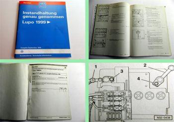 VW Lupo ab 1999 Instandhaltung genau genommen Inspektion AER AHT AHW AKQ ALL AKU