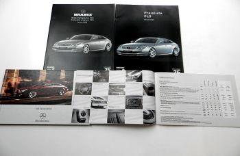 Mercedes Benz CLS-Klasse + Brabus 2 Prospekte + 2 Preislisten