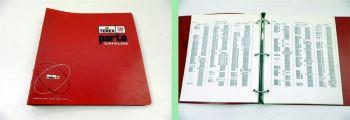 Terex Parts Catalog Supersedure List Parts Book 1982