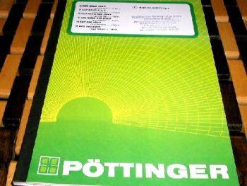 Pöttinger Novacat 402 Mähwerk Bedienungsanleitung Ersatzteillist