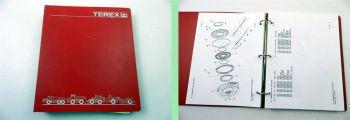 Terex 4066C Articulated Dumptruck Ersatzteilliste Parts Book Par