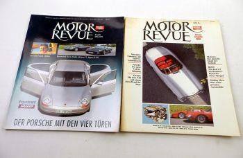 Motor Revue Zeitschrift Auto Motor Sport Porsche BMW Mercedes Fe