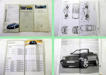 Mercedes Benz Technische Daten 1998 + Preisliste G-Klasse 2001