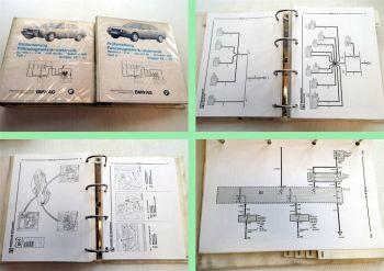 BMW 525i, 535i, M5 Werkstatthandbuch elektrische Schaltpläne MJ