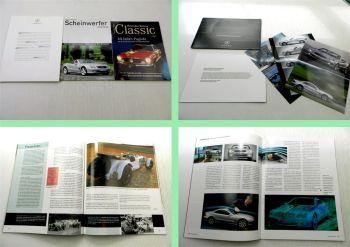 Mercedes Benz R230 230SL Prospekt Pressemappe Zeitschrift