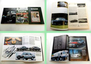 Mercedes Benz 100 Jahre Automobil, Oldtimer Katalog , KfZ Betrie