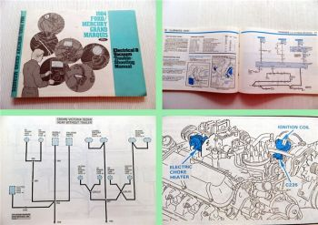 Ford Electrical & Vacuum Trouble Shooting Manual 1984 Ford Mercury Grand Marquis