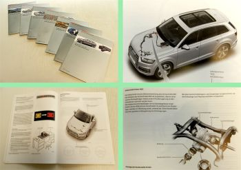 SSP 632 633 634 635 636 637 638 Audi Q7 Typ 4M Selbststudienprogramme