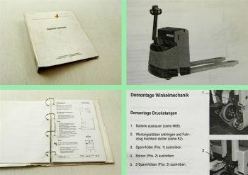 Wagner EGU20 Hubwagen Werkstatthandbuch Reparaturhandbuch 1994/95