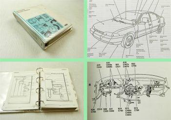 Werkstatthandbuch Ford Mondeo ab Modelljahr 1995 - 1996 Schaltpläne