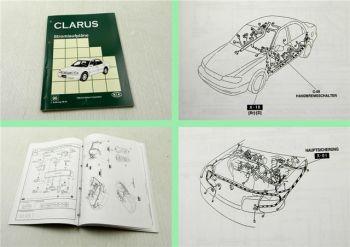 Werkstatthandbuch Kia Clarus 1996 Stromlaufpläne Elektrik Schaltpläne