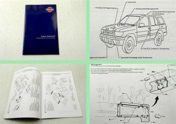 Nissan Pathfinder R50 Karosserie Werkstatthandbuch 1998