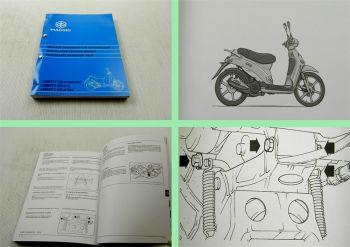 Werkstatthandbuch Piaggio Liberty 125 Motorroller 4 Takt Werkstatthandbuch 1998