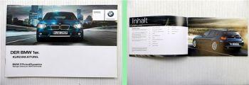 BMW 1er F20 / F21 Bedienung Kurzanleitung 2012