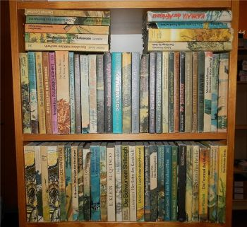 Spannend erzählt Abenteuer Romane Verlag Neues Leben Berlin 64x 1960-1980er J.