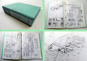 Werkstatthandbuch Citroen C5 + Kombi Elektrische Schaltpläne 2001 ab 8941 2002