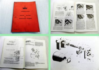 Deutz Kundendienstschule Technische Unterlagen Erntemaschinen Lehrgänge 1979