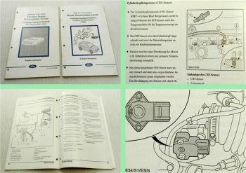 Ford Benzin-Motor Regelungssysteme Schulungsunterlagen Technik Service 1999/00
