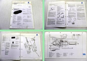 Eberspächer B1LC D1LC Heizgerät Betriebsanweisung Technische Beschreibung 1993