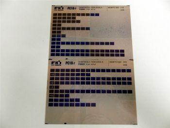 FAI FKI Komatsu PC10-7 Catalogo Ricambi Spare Parts Catalog Microfiche