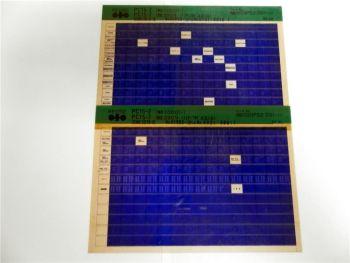 Komatsu PC15-2 Ersatzteilliste Parts Book Microfiche 1990