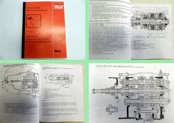 Deutz DX 4.10 - 4.70 DX 6.10 6.30 6.50 DX80 - DX145  Getriebe Bremsen