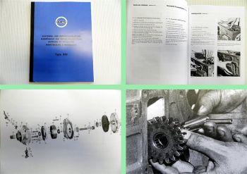 Reparaturanleitung Hurth 819 Getriebe Wartung Werkstatthandbuch