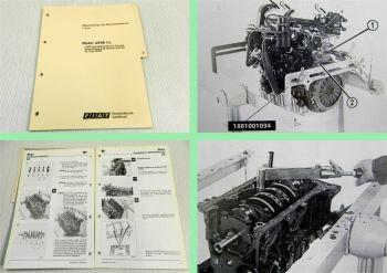 Werkstatthandbuch Fiat Ducato RFW 1998ie 2 L Motor Reparatur 1994