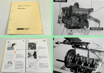 Fiat Punto Motor 1,2l SPI MPI 1242 Werkstatthandbuch 1993