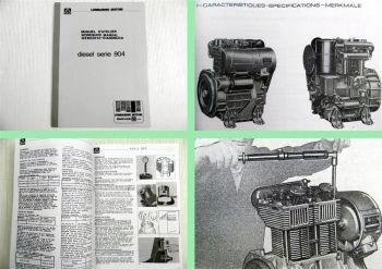 Lombardini 904 Werkstatthandbuch Reparaturhandbuch Werkstattanleitung