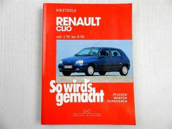 Renault Clio Reparaturanleitung BJ 1991 - 1998, Etzold