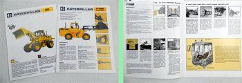 CAT Caterpillar Radlader 916 Industrielader IT18B 2 Prospekte Technische Daten