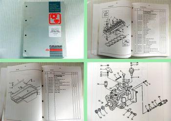 Furukawa Motor F659 T/TA für Bagger 635 E-W 640 E, Radlader 335 Ersatzteilliste