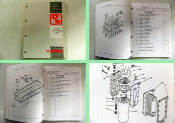 Furukawa Motor F683 T  für Bagger 645 E, Radlader 345-355 Ersatzteilliste Motor