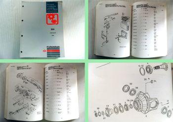 Furukawa Radlader 355 Ersatzteilliste Parts Manual 1992