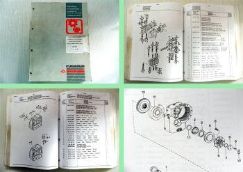 Furukawa Hydraulik Bagger W 725 Ersatzteilliste Ersatzteilkatalog 1996