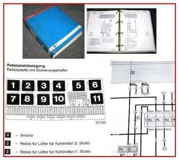 Werkstatthandbuch VW Polo 3 6N ab 1995 1996 1997 Stromlaufpläne Schaltplan