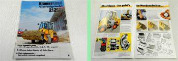 1 Prospekt Kramer Allrad 212 LTx Lader vierradgelenkt 35PS 1994