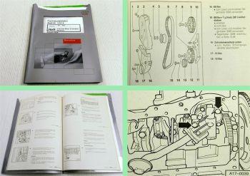 Reparaturleitfaden Audi 80 B4 Werkstatthandbuch 2,0l 16V Motor 6A ACE 2000