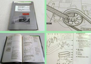 Reparaturleitfaden Audi 80 B4 2,3 L Einspritzmotor NG Werkstatthandbuch 2000