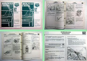 Renault Laguna Besonderheiten Motor F9Q Werkstatthandbuch 3 Nachträge 1998/99