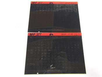 Massey Ferguson MF 373 Schlepper Ersatzteillisten Parts List  Microfiche 1988