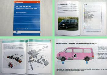 SSP 129 VW T4 Transporter + Caravelle Konstruktion + Funktion 1990/1991