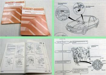Honda Accord Coupe Aero Deck Wagon Turbo Diesel Werkstatthandbuch 2 Nachträge 96