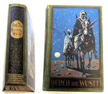 Durch die Wüste Karl May Reiseerzählung 1866 K. May Verlag Sehfenfeld  & Co
